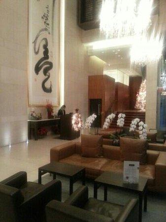 Shangri-La Hotel, Vancouver: Hotel lobby