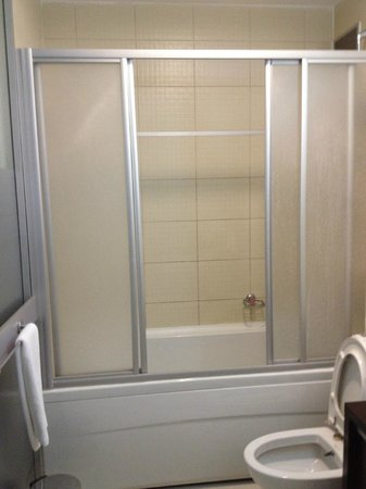 Gallery Residence: Enclosed shower