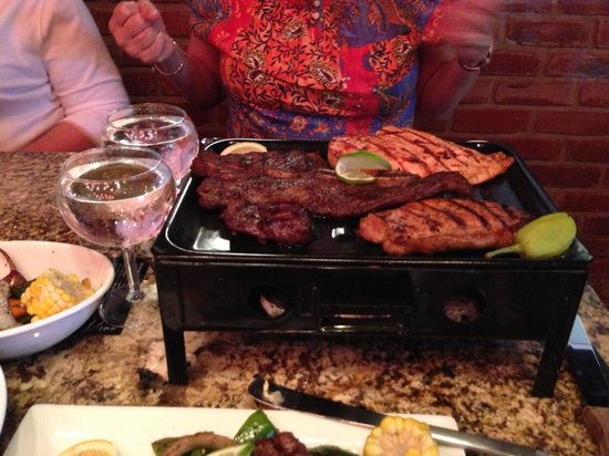 Tango Argentinian Steakhouse: The wife's dinner, Parrillada Buenes Aries""