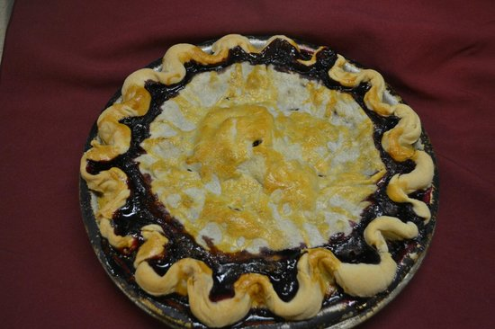 Salt Bay Cafe: Homemade Blueberry Pie,   Seasonal