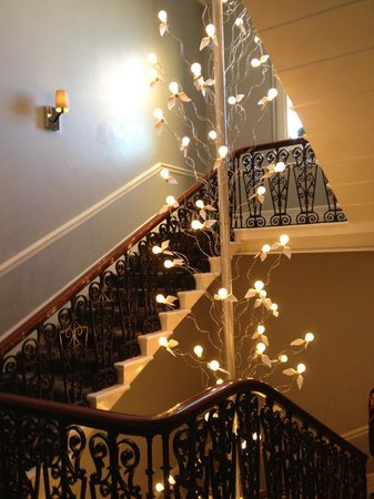 The Ampersand Hotel: escaleras
