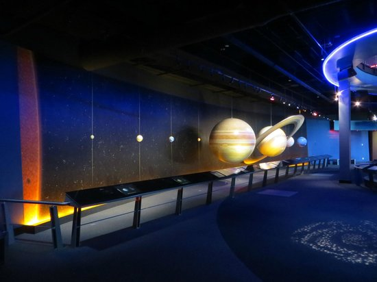 Adventure Science Center : Solar System.