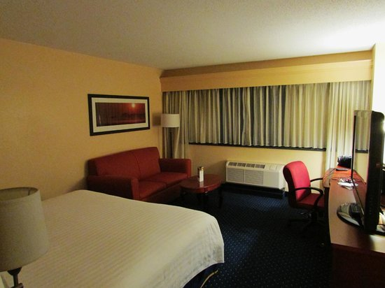 Crystal City Marriott at Reagan National Airport: Marriot Room