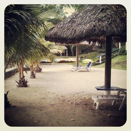 Benjor Beach Club: Beach Area