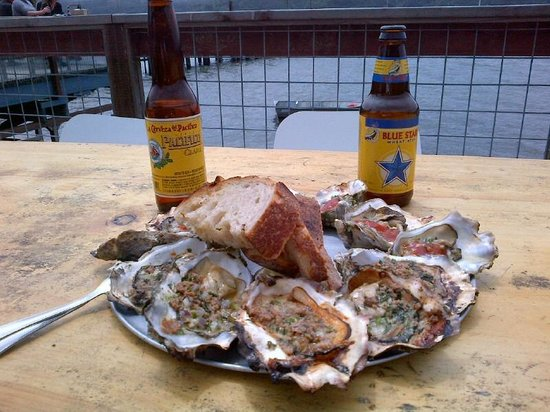 The Marshall Store: Chorizo Oysters
