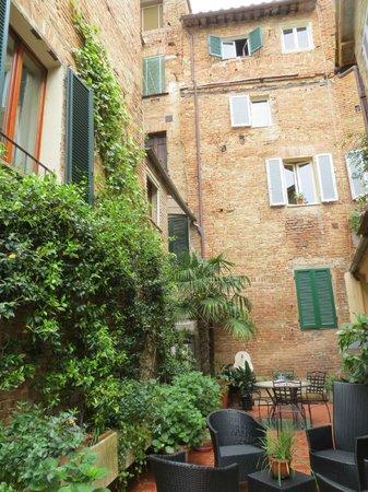 B&B Siena in Centro: Our Garden Terrace