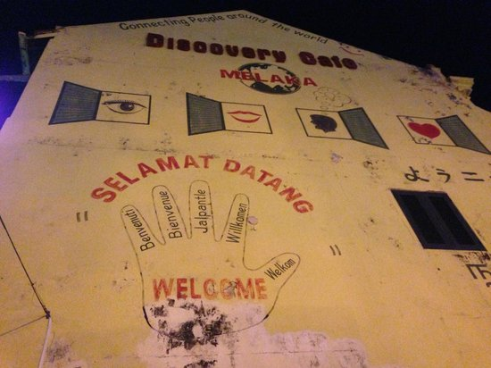 Discovery Cafe & Guest House: 'Welcome' in Malay