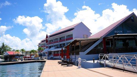 Landmark Marina: The main building