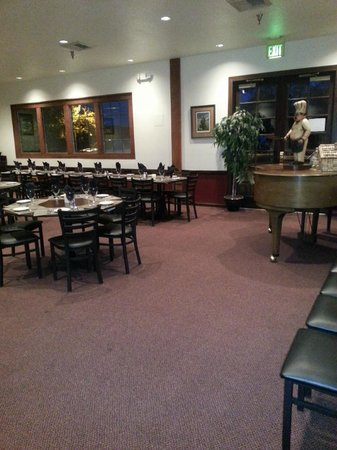 Lentine's: One of the dining areas