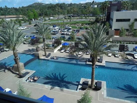 Viejas Casino & Resort: View from room, pool.