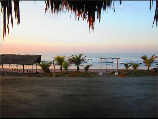 Paredon Surf House: View (What did I tell you?)