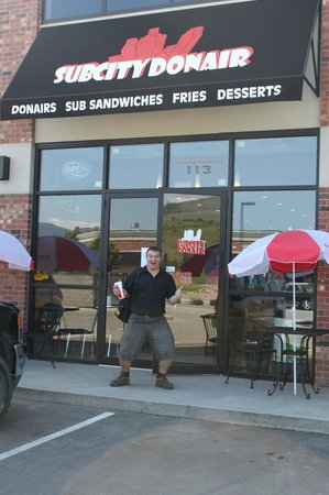 SubCity Donair: Satisfied Customer