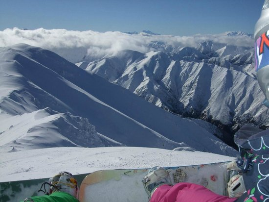 Mount Lyford Alpine Resort: View North from the ridge