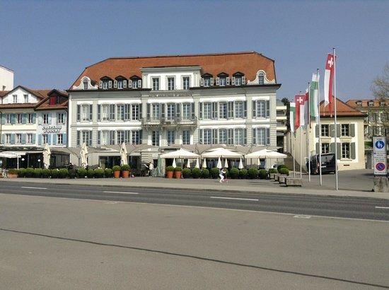 Café Beau-Rivage : Hôtel Angleterre & Résidence Lausanne - Cafe Beau Rivage