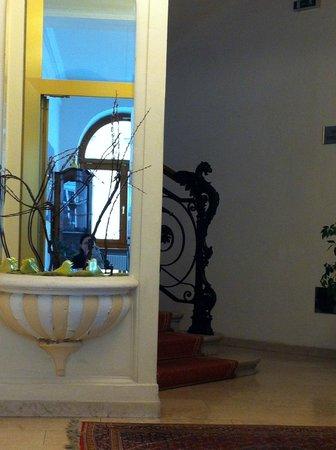 Hotel Beethoven Wien: Вид на лестницу