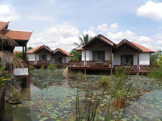 BEST WESTERN Suites and Sweet Resort Angkor : View from room
