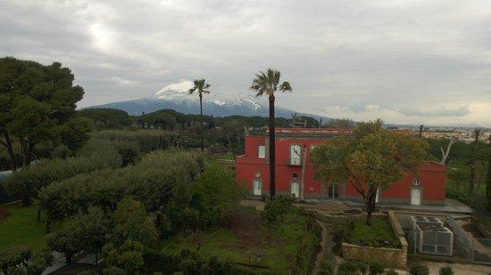 Hotel Forum Pompei: View from room balcony