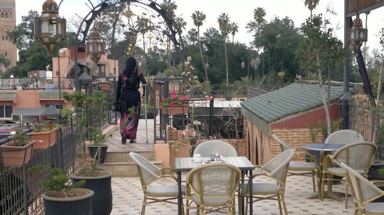 Riad & Spa Mabrouk : roof top