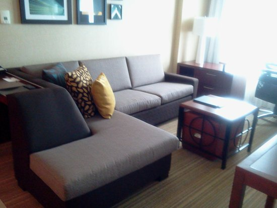 Residence Inn by Marriott Calgary Airport : living room