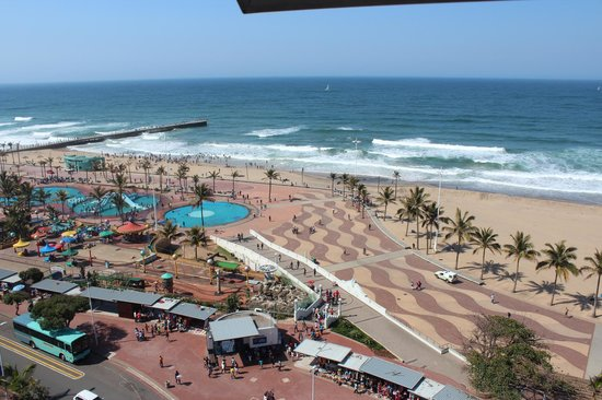 View From Hotel Picture Of Gooderson Beach Hotel Durban Tripadvisor
