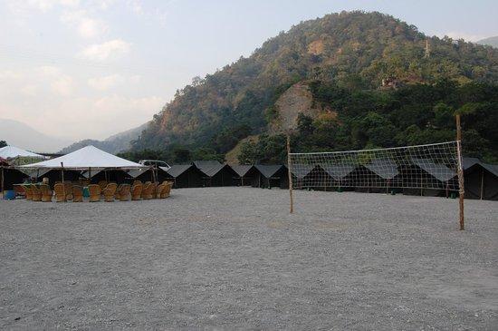 Camp Riverside Rishikesh: Overview