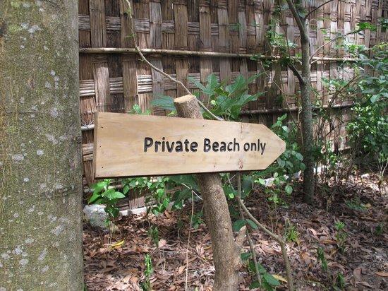 L'Alyana Villas Ninh Van Bay: To our beach