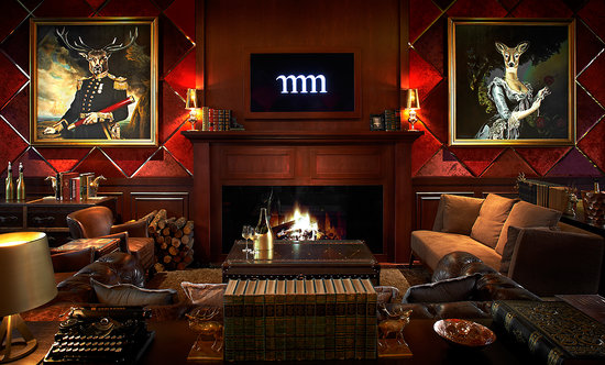 Living Room - Macalister Mansion