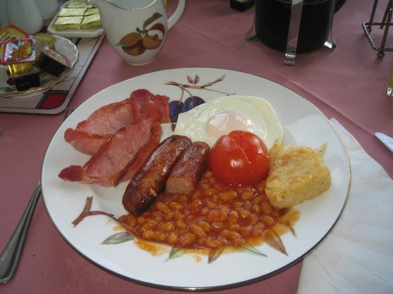 Ashgrovehouse Hotel: L'abbondante colazione