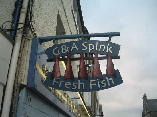 The Tailend Restaurant and Fish Bar: L'insegna