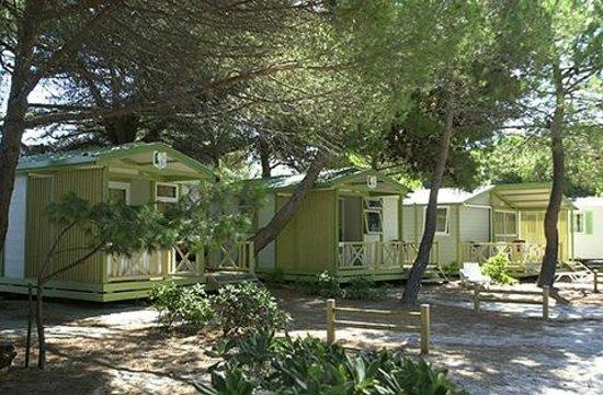 Camping la Presqu'ile : chalet 4p