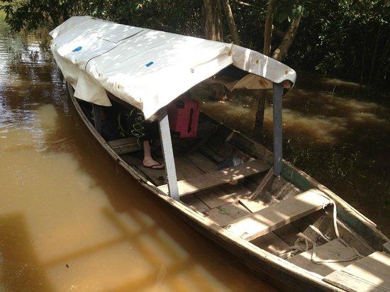 Amaru Spirit : Boat we arrived in
