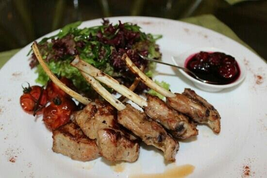 Fusion Restaurant Jeraffe: Ребрышки теленка