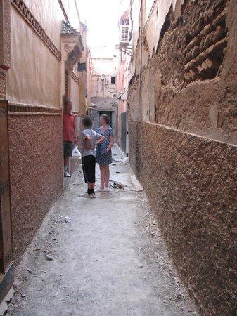 Entrance to Riad Puchka