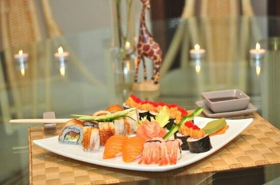 Fusion Restaurant Jeraffe: Суши