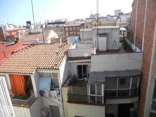 Hotel Catalonia Castellnou: Vista desde la terraza