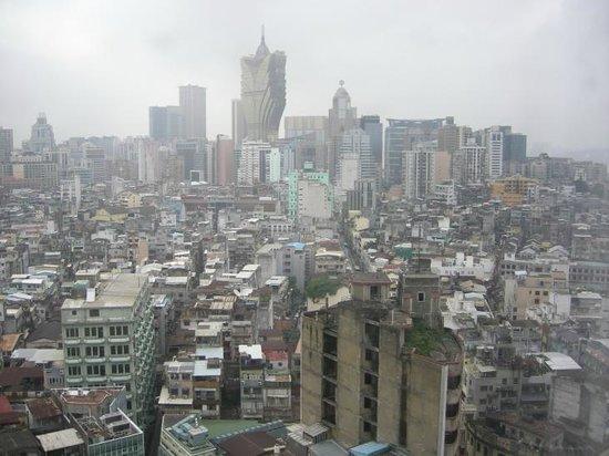 Sofitel Macau At Ponte 16: View from room - Grand Lisboa on the far side