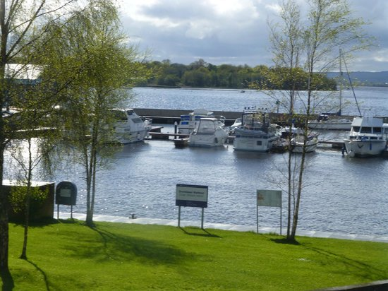Lough Derg House: View from room