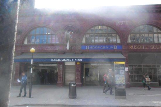 Grange White Hall Hotel: station de métro RUSSEL