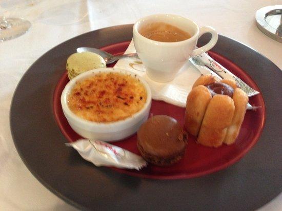 L'Horloge Restaurant: Café gourmand