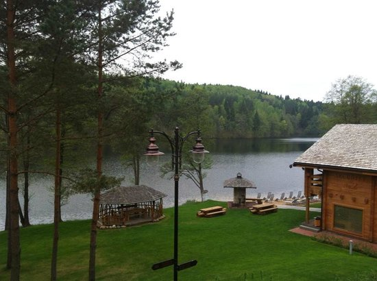 IDW Esperanza Resort: Russian sauna near the lake