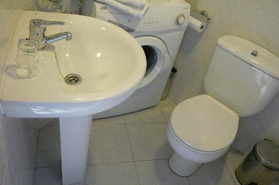 Apartamentos Mayor Centro : baño apartamento estandar