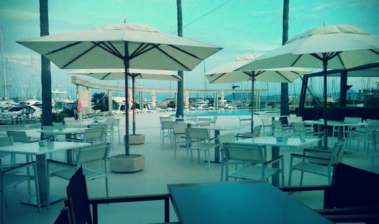 Reial Club Nautic Port de Pollenca Restaurante: Stunning view from table
