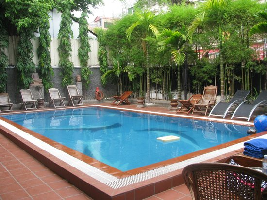 Eureka Villas Phnom Penh: Even small - refreshing