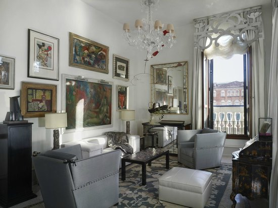 The Gritti Palace, A Luxury Collection Hotel : The Peggy Guggenheim Patron Grand Canal Suite