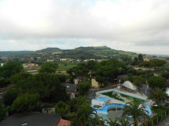 Hotel Riviera: Vista colline