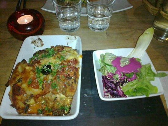 SOYA: Lasagnes végétariennes