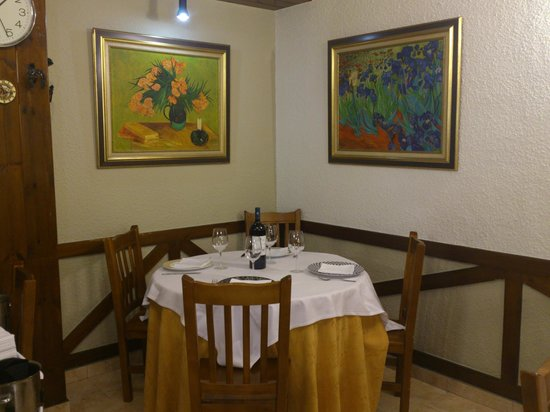 Restaurante Tudelilla: comedor