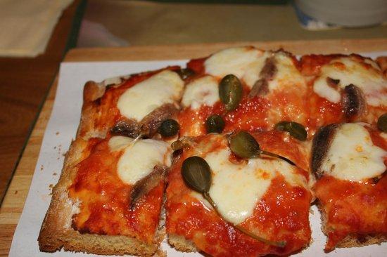 Birreria Forst : Pizza mit Gemüse