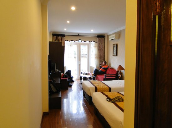 The Landmark Hanoi Hotel : Gratis upgrade naar familiekamer