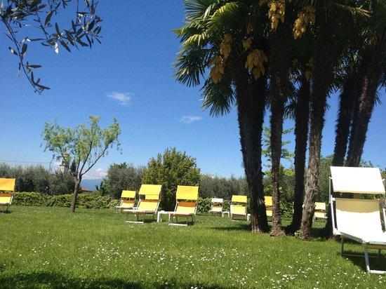 Hotel Giulietta Romeo: Gartenanlage